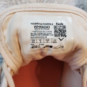 Keds Shoes - Kids Kickstart Light Pink Suede Lace Up Sneaker